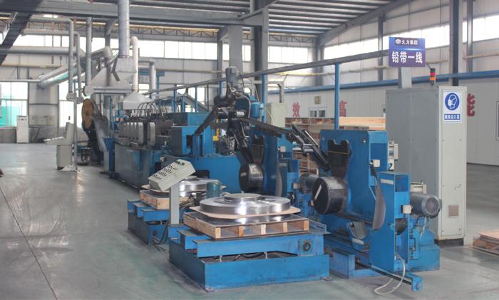 自动化连续薄铅带生产线(1)
