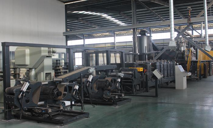 自动化连续冲网板栅生产线(1)